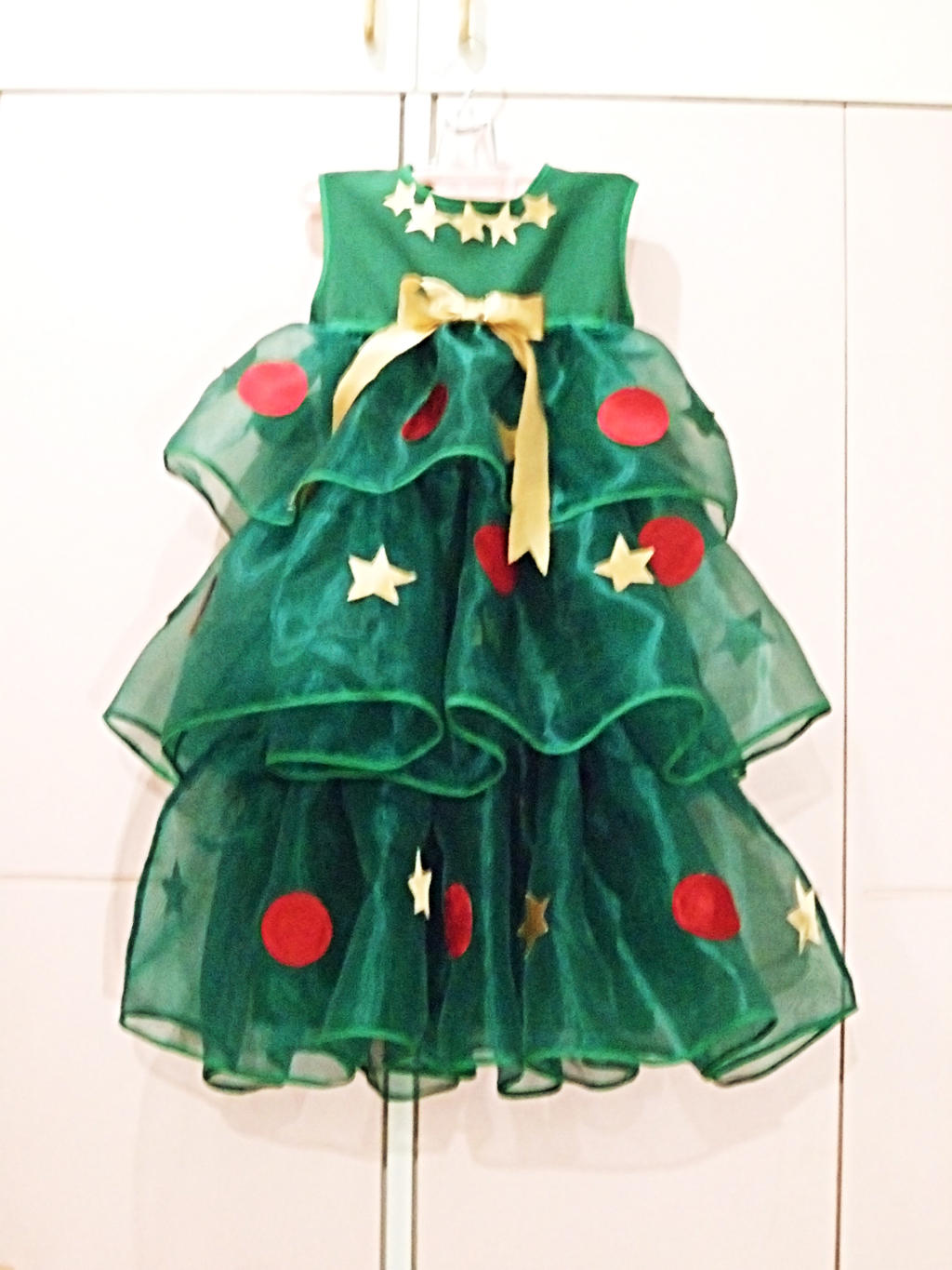 Christmas tree costume by rugbygurl watch artisan crafts costumery