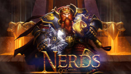 Nerds go Casual WoW Wallpaper