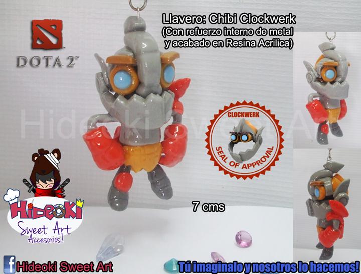 key chain chibi clockwerk dota 2 by hideoki on deviantart
