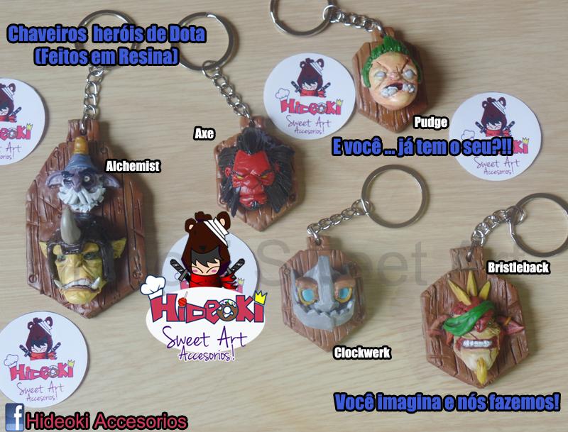 Dota2 Heroes keychains!! by Hideoki