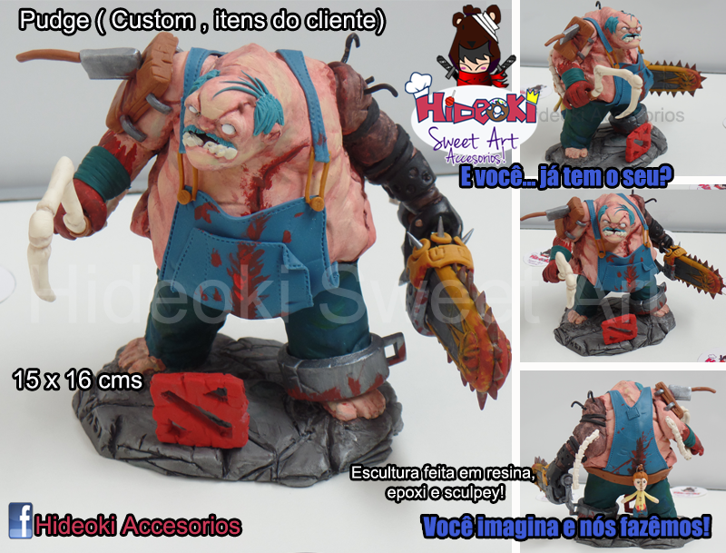 Pudge custom! As the client plays it! by Hideoki