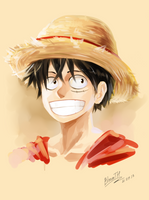 Monkey-D-Luffy by BloomTH