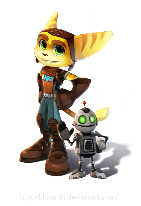 ratchet and clank 2 wallpaper