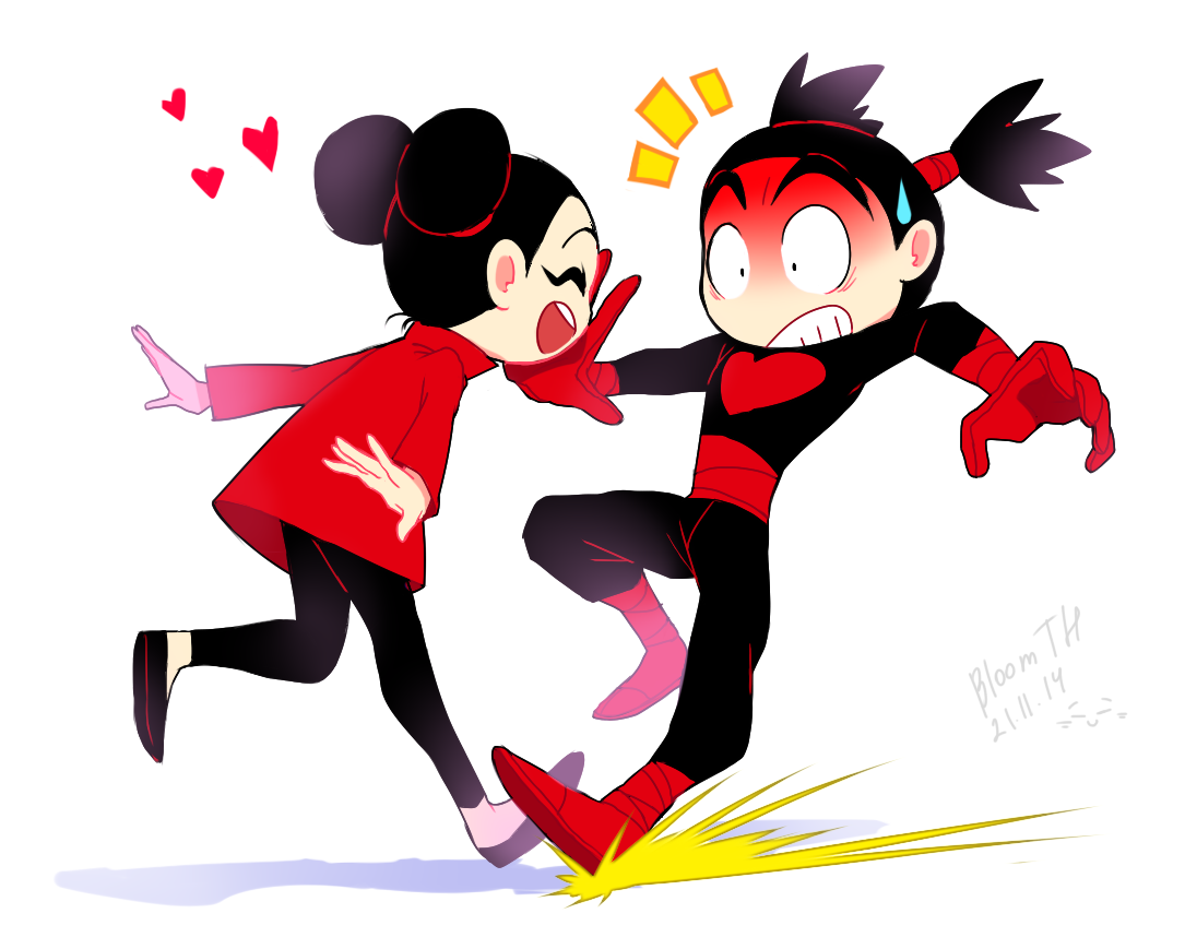 Top Pucca And Garu Comics Wallpapers