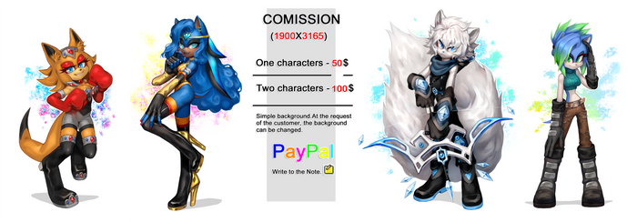 COMISSION-OPEN