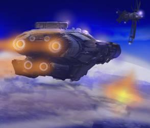 Spaceship by ARTRIAD