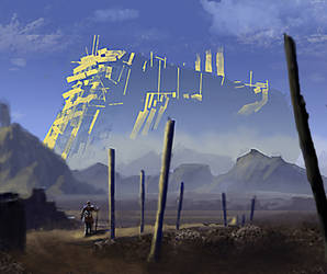 Titan's Ship by ARTRIAD