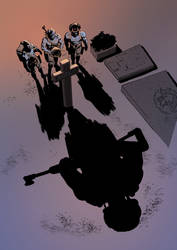 Death Of Rogue Trooper by ARTRIAD