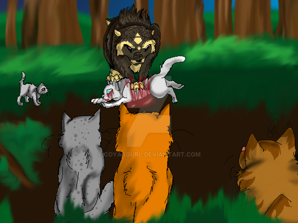 Willowpelts Death by CoyasGurl
