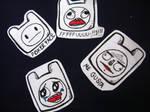 Finn Stickers Meme
