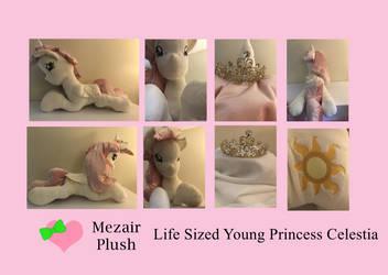 Young Princess Celestia Life Sized Plush