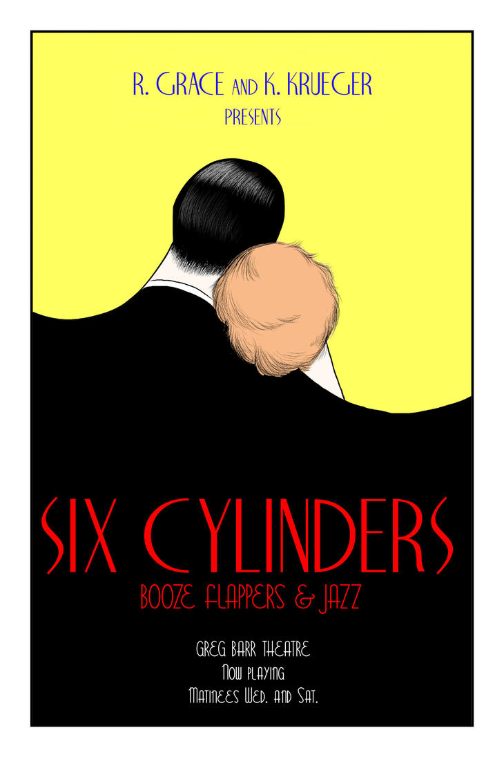SIX CYLINDERS POSTER 1 by underwoodwriter