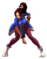 Mai as Chun-Li by viraliptg