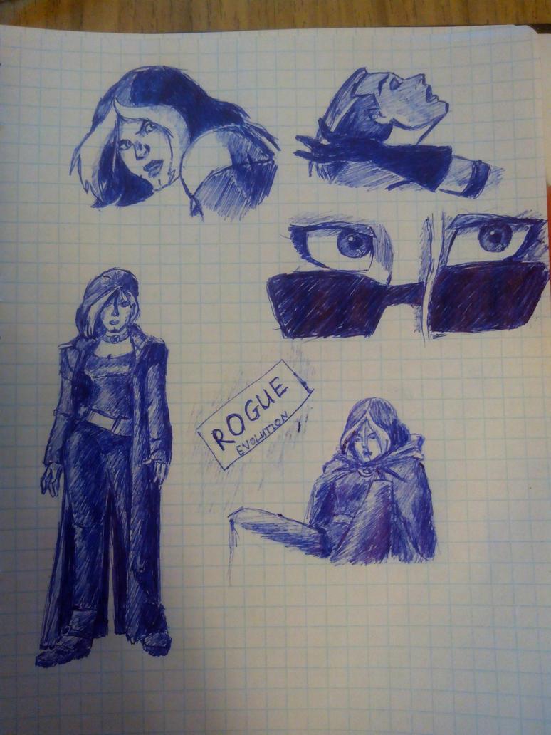 Rogue sketch by capconsul