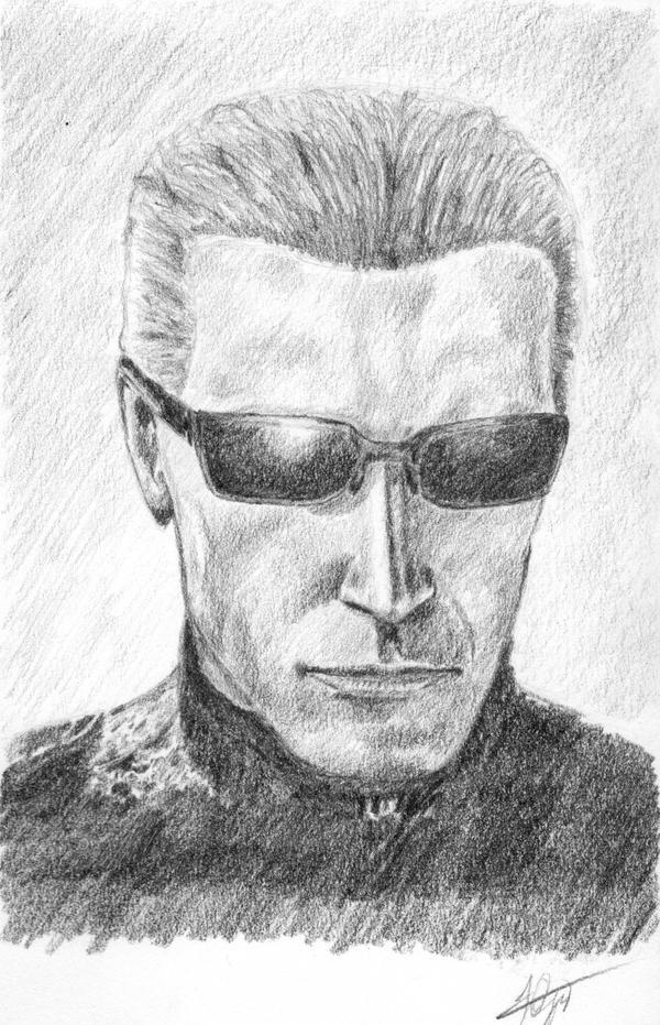 Albert Wesker by capconsul