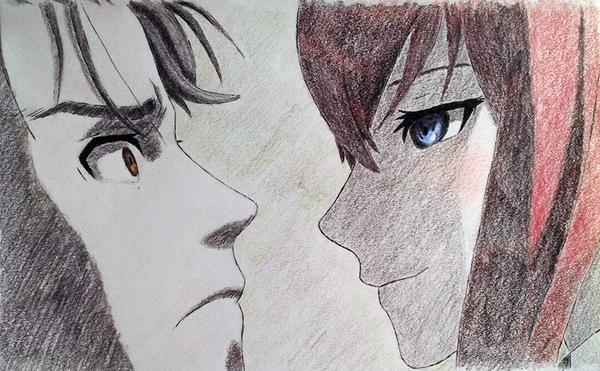 Kurisu_Okabe by capconsul