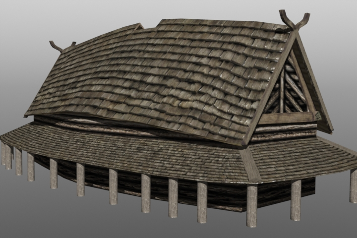 Norse Longhouse WIP