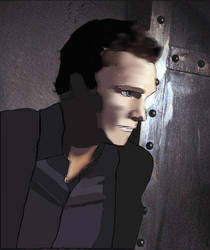 David Anders Sark by LithiumRaiden