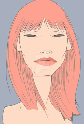 anna karina pink hair WIP
