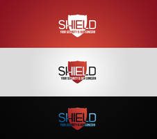 Official SHIELD Logo Version 1 R/W/B by nARTAlone