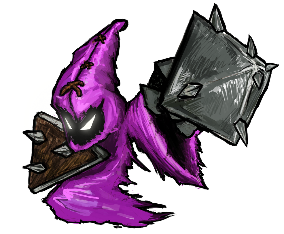 Purple melee minion by Guncem on DeviantArt