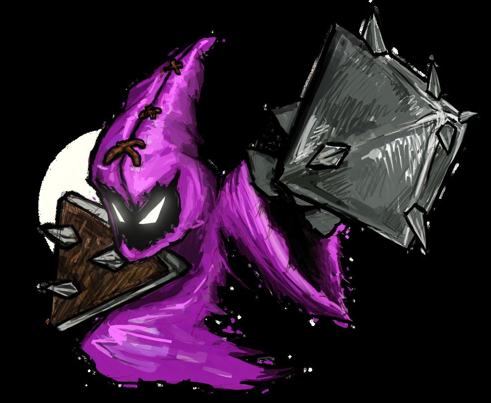 Purple melee minion by Guncem on DeviantArt