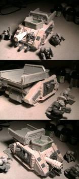 Looted wagon