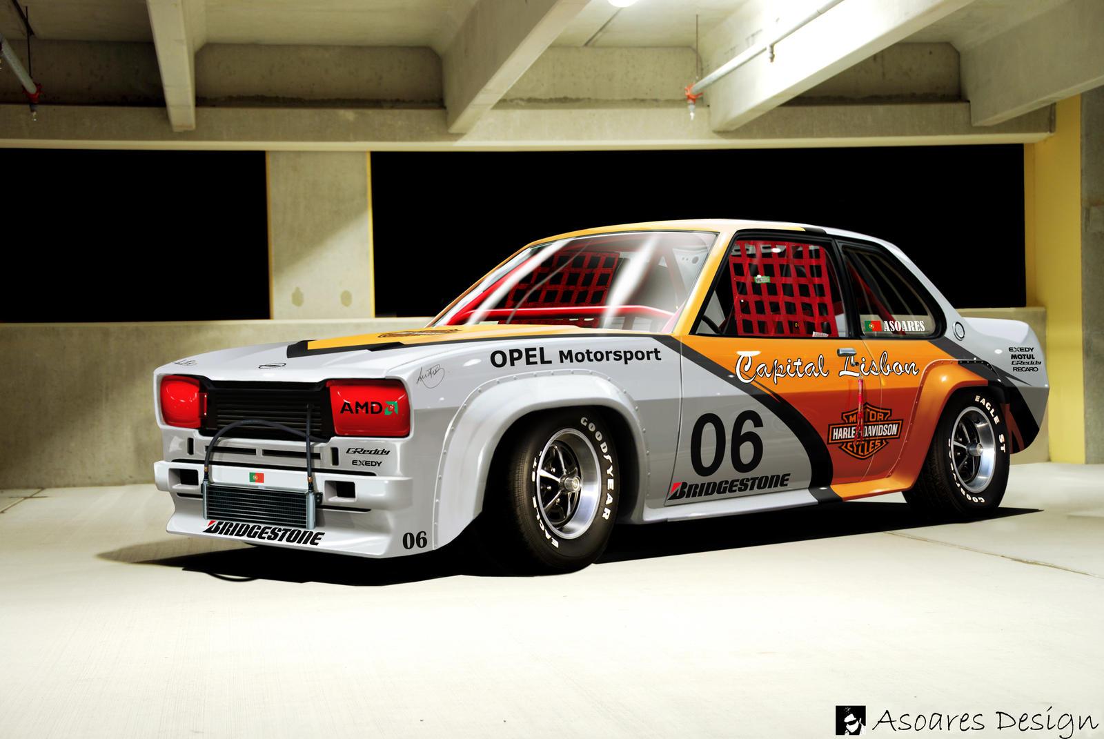 Opel Ascona B Race By Asoares On Deviantart