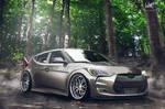 Hyundai Veloster new body kit