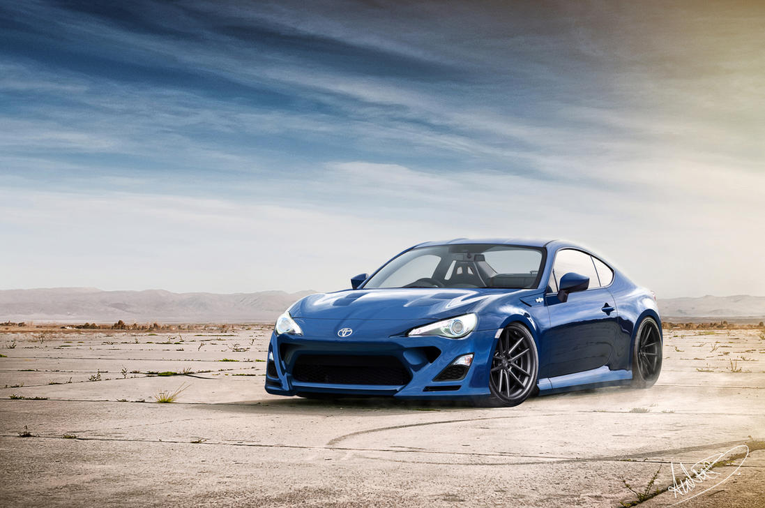 Toyota Gt86 Blue Oasis By Asoares On Deviantart