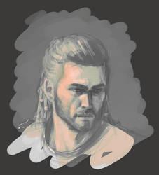 Alexios, study by cute-ellyna