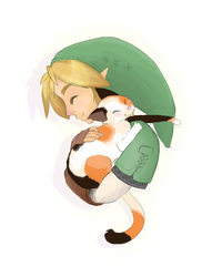 When Link Holds Cats...