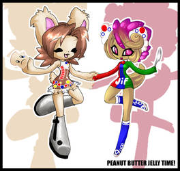:: Peanut Butter Jelly Time by neokeia