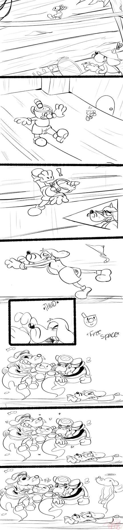 Mugman Stunts Com by brow9637