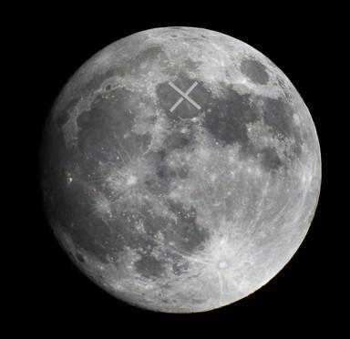 X the Moon