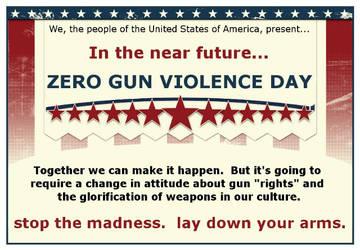 Zero Gun Violence Day