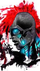 a piece of Klaybot image. by wonderKat1