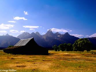 Lonely Barn by fargo41