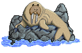 Walrus by Cosmic-Caterpillar