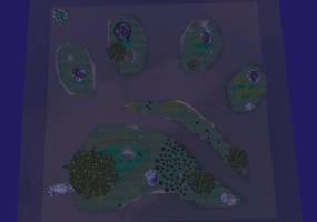 Paw island map by Zophrenia