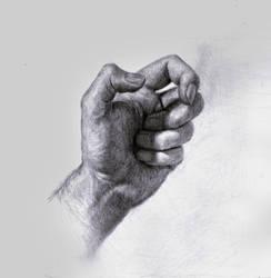 Hand sketch by SILENTJUSTICE