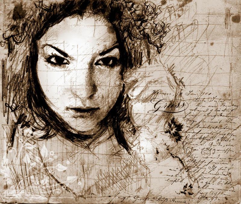 Helen Sketch by SILENTJUSTICE