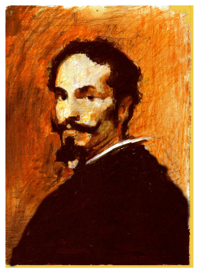 Sketch  Velazquez Study by SILENTJUSTICE