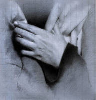 Hand study for painting by SILENTJUSTICE