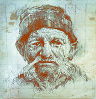 Old man by SILENTJUSTICE