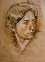 Sketch for Portrait by SILENTJUSTICE