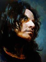 Self Quick in oils by SILENTJUSTICE