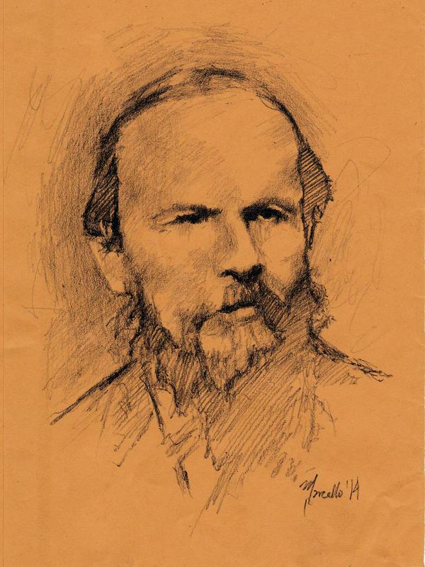 Dostoyevsky by SILENTJUSTICE