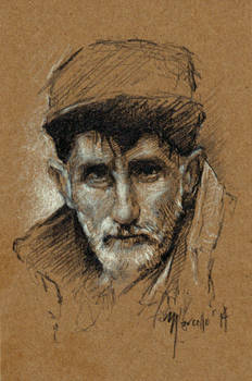 Sketch practice Old man