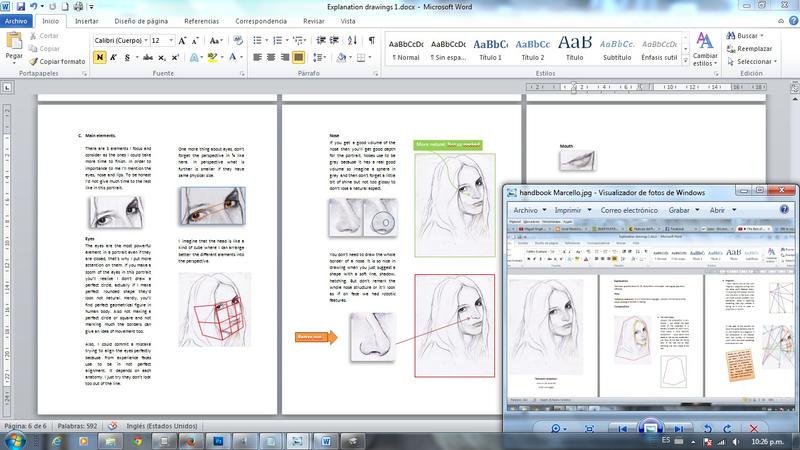 Drawing Handbook WIP 2 by SILENTJUSTICE